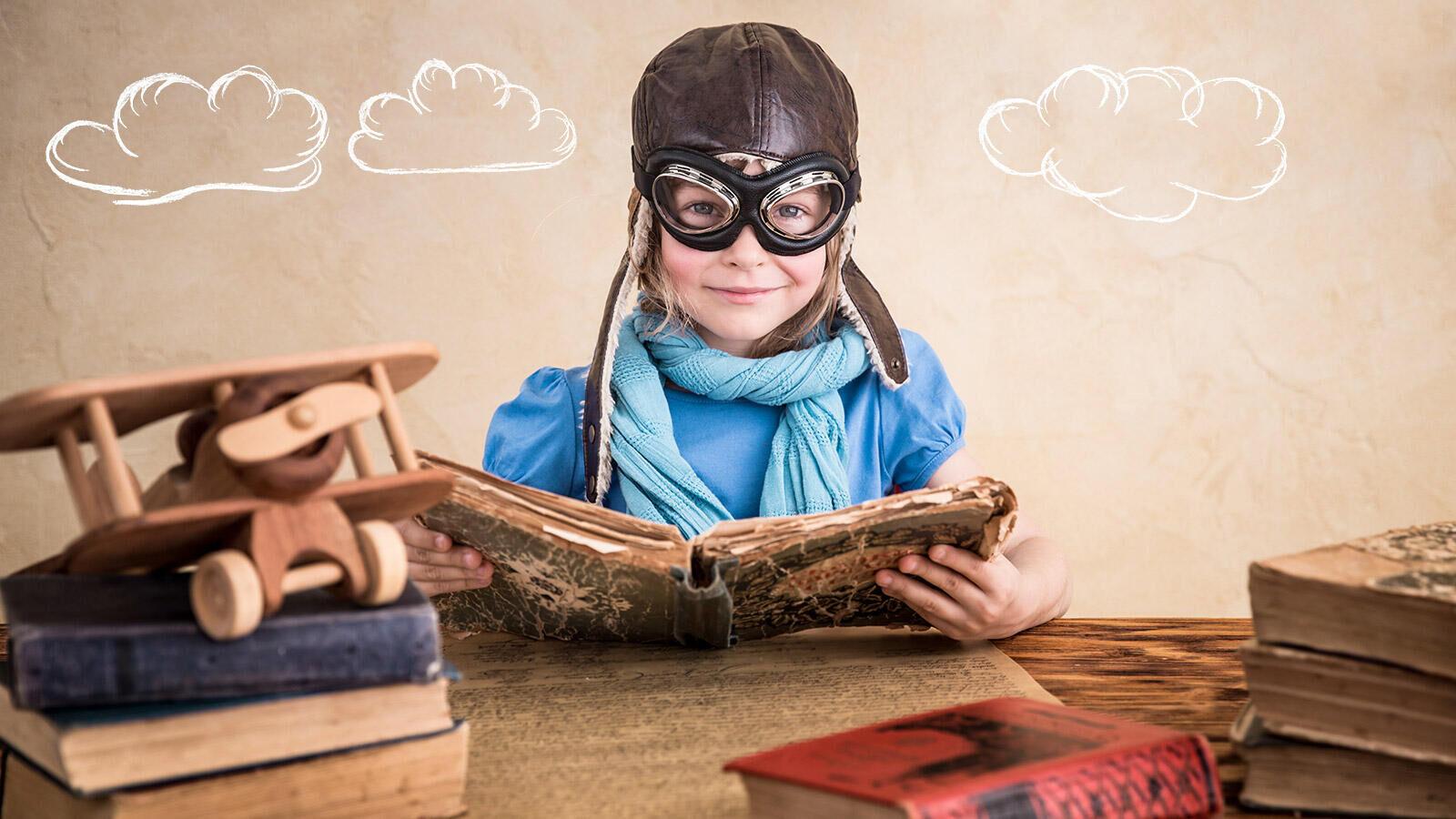 Wie leest leert de wereld!
